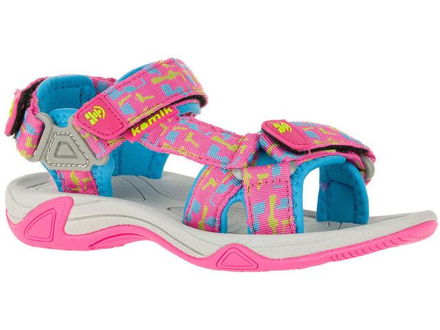 Kamik Lowtide 2 Sandals Kids Magenta